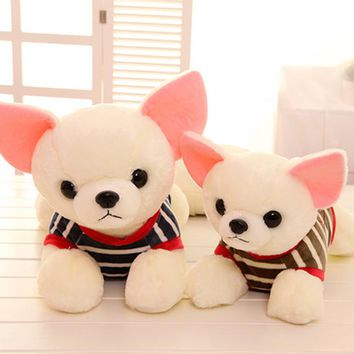 Stuffed Plush Animals Dog Plush Toy Pluche Stuffe Speelgoed Birthday Gifts For Girls Cute Stuffed Animals With Big Eyes 70C0329