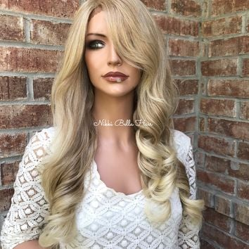 "Blond Balayage Ombré Lace front wig 24"" - Ariana"