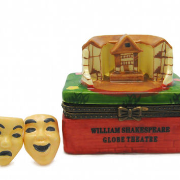 Shakespeare Globe Theatre Treasure Boxes
