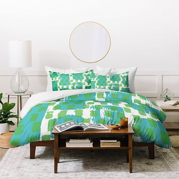 Natalie Baca Paint Play One Duvet Cover