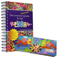 Rainbow Loom® Kit and The Loomatic's Interactive Guide to the Rainbow® Loom Set