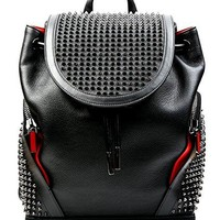 Wiberlux Christian Louboutin Women's Studded Top Flap Backpack