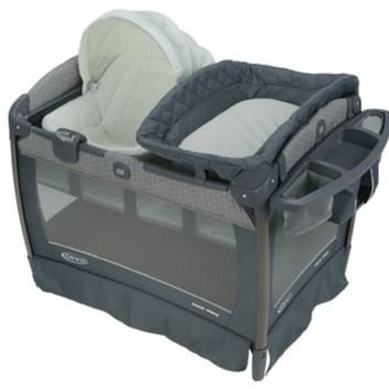 Pack 'n Play® Playard Newborn Napper® Oasis with Soothe Surround™ Technology   gracobaby.com