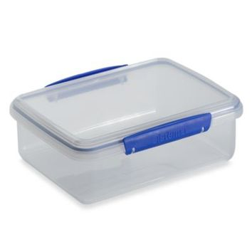 Sistema® KLIP IT® 2-Liter Rectangular Food Storage Container