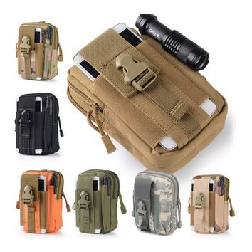 Unisex Tactical Oxford Running Waist Belt Bags Wallet Pouch Outdoor Sport Pack EDC Multipurpose Travel Camping Hiking Bags JC