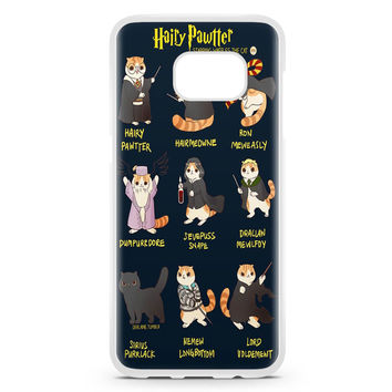 Harry Potter Cat Hairy Pawter Samsung Galaxy S7 Edge Case