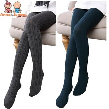 Children's Fashion Girl Pure Color Breathable Twist sock Bottom Socking Twt0118