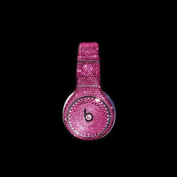 Swarovski Crystal Beats By Dre Studio Bling Headphones - Christmas / Holiday 2013