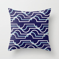 Cloud Geometry Throw Pillow by Dale Keys   Society6