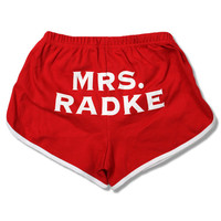 Mrs. Radke Booty Shorts • The Official Falling In Reverse Online Store :: powered by Kings Road Merch