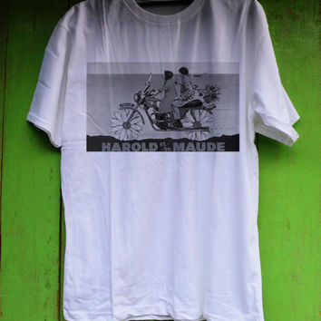 Harold and Maude Shirt TShirt Tee Shirts Black and White For Men and Women Unisex Size from metroempower