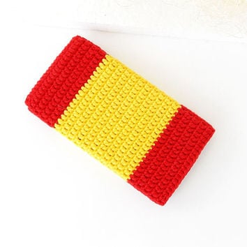 Spanish Flag Honor 8 phone case, Red Moto G5 cover, LG K10 sleeve, Yellow iPhone 7 cozy, Flag Pixel pouch, Samsung A5 sock, Nokia soft case