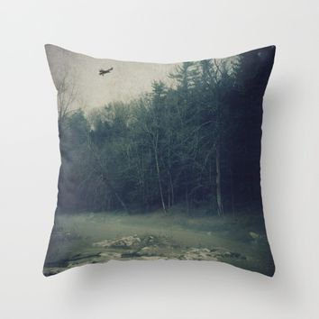 Darkness Prevails Throw Pillow by Faded  Photos