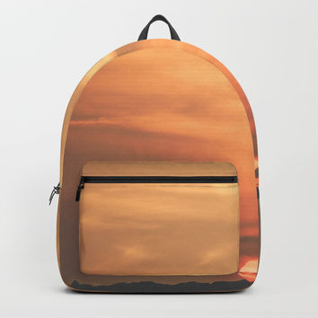 Austin Sunset pt.4 Backpack by audrey_ross