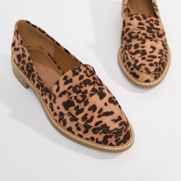 ASOS DESIGN Mantra loafer flat shoes at asos.com