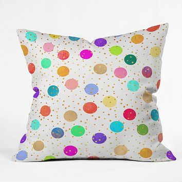 Elisabeth Fredriksson Time To Celebrate Throw Pillow