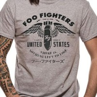 Foo Fighters FF Men's Nothing Left To Lose Casual T-Shirt