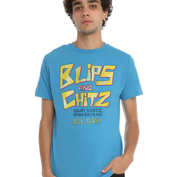 Rick And Morty Blips And Chitz T-Shirt