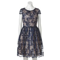 Jessica Howard Lace Fit & Flare Dress - Women's