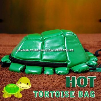 Hot Sale Fashion Tortoise Backpack Children Bag,Cartoon Teenage Mutant Ninja Turtle Boys Schoolbag,Boy's Travel Bag High Quality