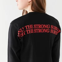 Only The Strong Survive Long Sleeve Tee | Urban Outfitters