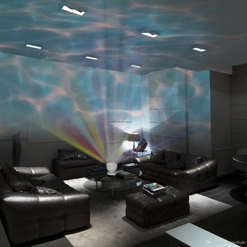 Aurora Sky Romantic Ocean Wave Projector