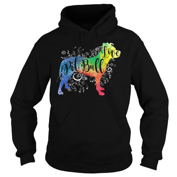 Pitbull Collection- PITBULL LOVE -Unisex Hoodie - SSID2016