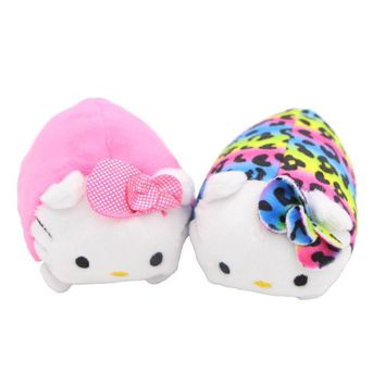 Hello kitty 1pcs Ty Beanie Boos Original 8cm TSUM TSUM Cats Stuffed & Plush Animals Toys