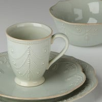 French Perle Ice Blue 4-piece Place Setting by Lenox