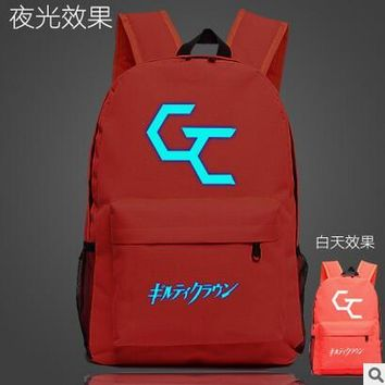 Japanese Anime Bag 2017 fashion 2017 New Guilty Crown Bags For Teenage Girls Boys  Fans Bags School Bookbags for teenagers AT_59_4