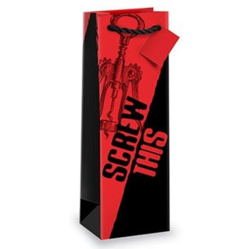Screw This Bottle Gift Bag by Epic Products