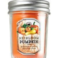 Mason Jar Candle Heirloom Pumpkin