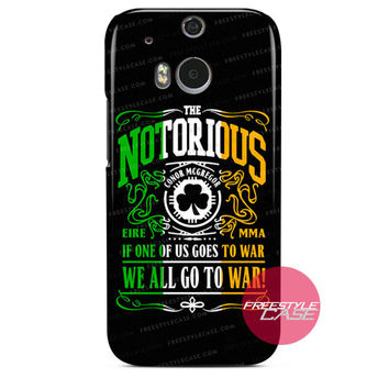Notorious Quote UFC HTC One Case Cover Series
