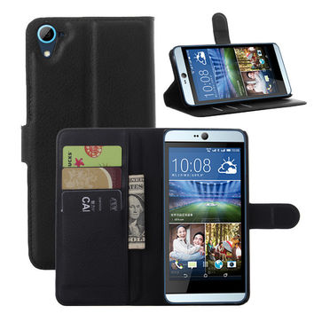Dmart7dealLeather Wallet Stand Flip Card Slot Phone Case Cover For HTC Desire 826 / 826W Dual Sim 4G LTE