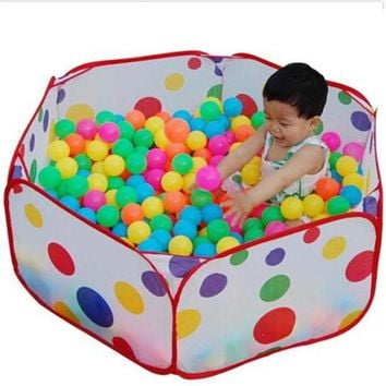 DCCKL3Z 2016 Hot Children Toys Tent Game Ball Pits Pool Foldable Children Ball Pool Outdoor Fun Sports Educational Toy