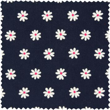 Daisy Cord Navy - Custom Shirt