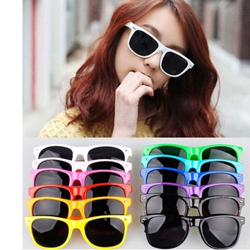 Candy Color Women Mens Sunglasses Retro Vintage Style Shades Glasses = 1958290180