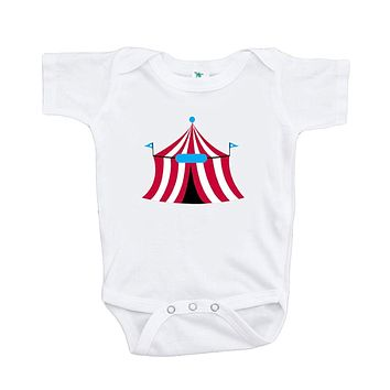 Custom Party Shop Baby Boy's Circus Tent Onepiece
