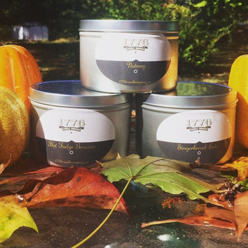1776 Candle Company - Soy Scented Candle Set of three Soy scented candles