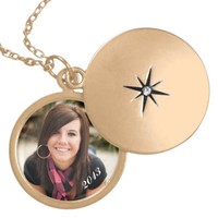Personalized graduation locket