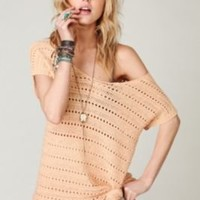 Dotted Lines Sweater Tunic at Free People Clothing Boutique