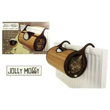 Jolly Moggy Bamboo Cat Radiator Bed From