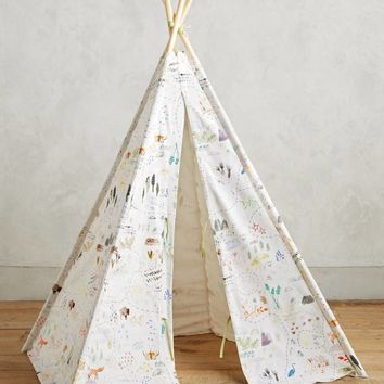 Wilderness Map Play Tent