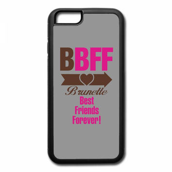 brunette best friends forever right arrow iPhone 7 Plus Case