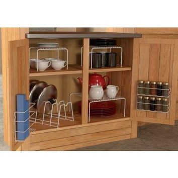 Grayline Cabinet organizer Set