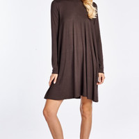 A Weakness for Chocolate Swing Dress