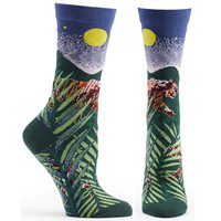 Endangered Cats Tiger Sock
