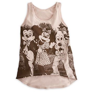 Mickey Mouse and Friends Tank Tee for Women - Disney Parks | Disney Store