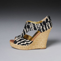 Seychelles 'Memories of You' Printed Fabric Wedge Sandals