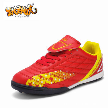 Casual Stylish Hot Deal On Sale Hot Sale Comfort Children Football Anti-skid Permeable Shoes Sneakers [4919287236]